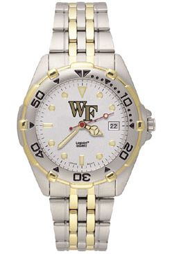 Wake Forest All Star Mens (Steel Band) Watch
