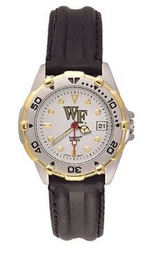 Wake Forest All Star Womens (Leather Band) Watch