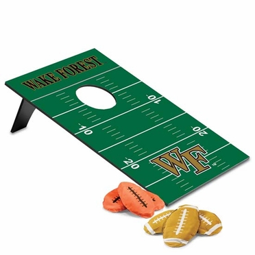 Wake Forest Bean Bag Throw Game