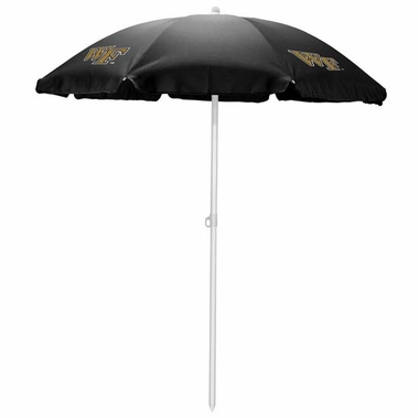 Wake Forest Beach Umbrella (Black)