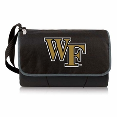 Wake Forest Blanket Tote (Black)