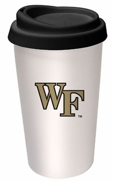 Wake Forest Ceramic Travel Cup