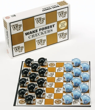Wake Forest Checkers Set