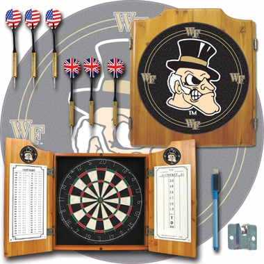 Wake Forest Complete Dart Cabinet