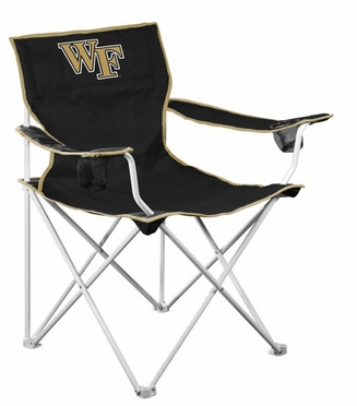 Wake Forest Deluxe Adult Folding Logo Chair