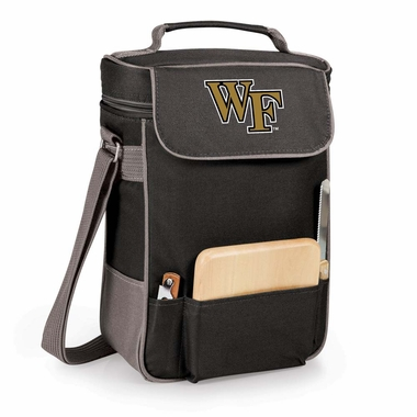 Wake Forest Duet Compact Picnic Tote (Black)
