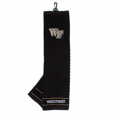 Wake Forest Embroidered Golf Towel