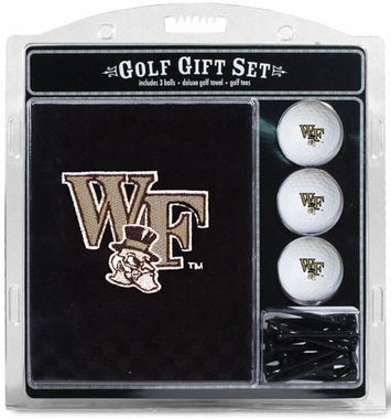 Wake Forest Embroidered Towel Gift Set