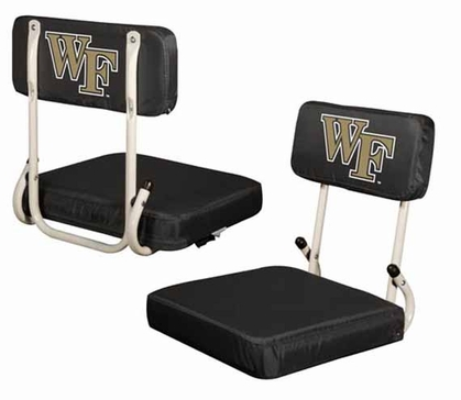 Wake Forest Hard Back Stadium Seat
