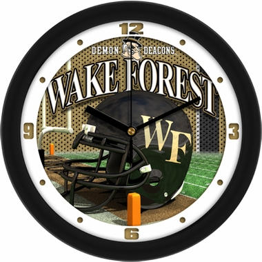 Wake Forest Helmet Wall Clock