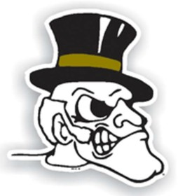 Wake Forest Individual Car Magnet
