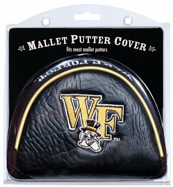 Wake Forest Mallet Putter Cover