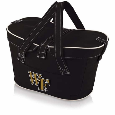 Wake Forest Mercado Picnic Basket (Black)