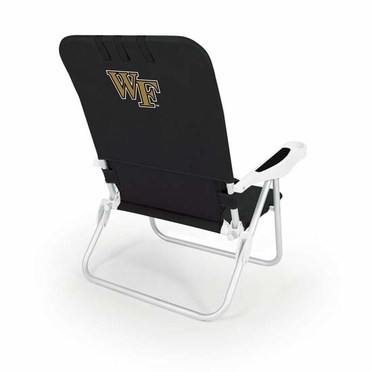 Wake Forest Monaco Beach Chair (Black)
