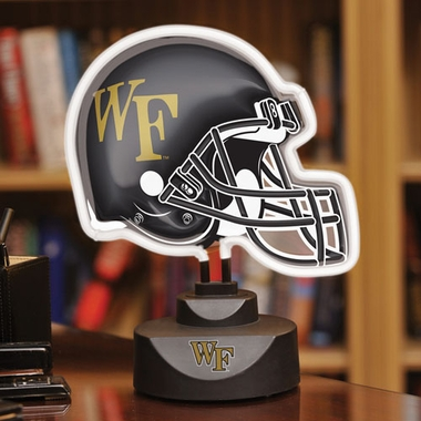 Wake Forest Neon Display Helmet