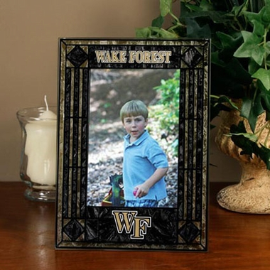 Wake Forest Portrait Art Glass Picture Frame