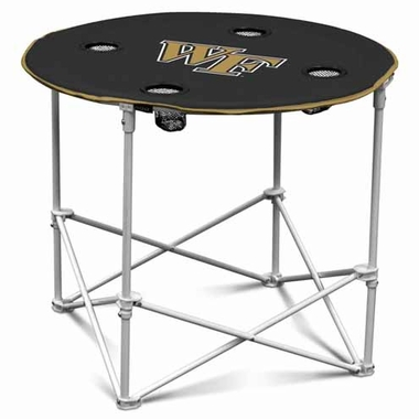 Wake Forest Round Tailgate Table