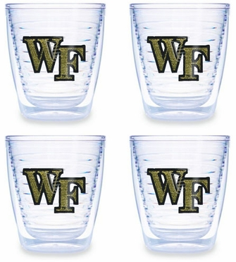 Wake Forest Set of FOUR 12 oz. Tervis Tumblers