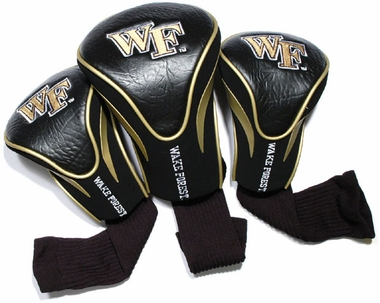 Wake Forest Set of Three Contour Headcovers