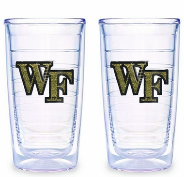 Wake Forest Set of TWO 16 oz. Tervis Tumblers