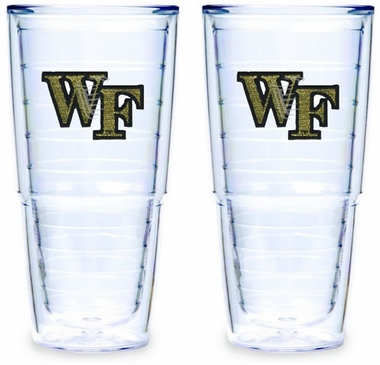Wake Forest Set of TWO 24 oz. Tervis Tumblers
