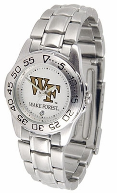 Wake Forest Sport Women's Steel Band Watch