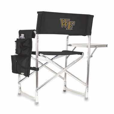 Wake Forest Sports Chair (Black)