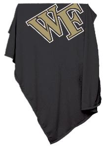 Wake Forest Sweatshirt Blanket