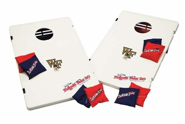 Wake Forest Tailgate Toss 2.0 Cornhole Beanbag Game