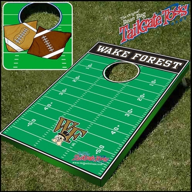 Wake Forest Tailgate Toss Cornhole Beanbag Game