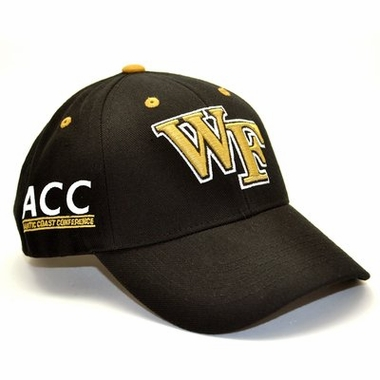Wake Forest Triple Conference Adjustable Hat