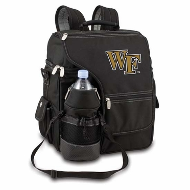 Wake Forest Turismo Embroidered Backpack (Black)