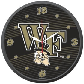 Wake Forest Wall Clock