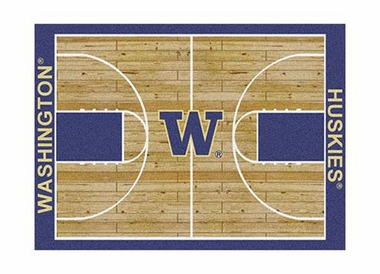 "Washington 3'10"" x 5'4"" Premium Court Rug"