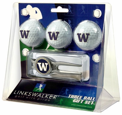 Washington 3 Ball Gift Pack With Kool Tool