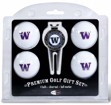Washington 4 Ball and Divot Tool Set