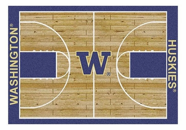 "Washington 5'4"" x 7'8"" Premium Court Rug"