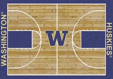 "Washington 7'8"" x 10'9"" Premium Court Rug"
