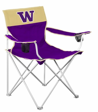 Washington Big Boy Adult Folding Logo Chair