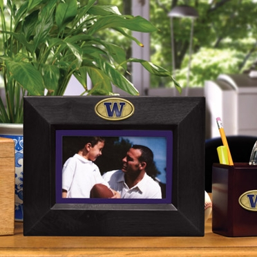 Washington BLACK Landscape Picture Frame