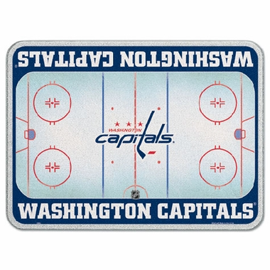 Washington Capitals 11 x 15 Glass Cutting Board