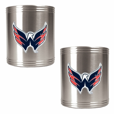 Washington Capitals 2 Can Holder Set