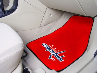 Washington Capitals 2 Piece Car Mats