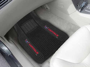 Washington Capitals 2 Piece Heavy Duty DELUXE Vinyl Car Mats