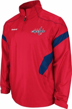 Washington Capitals 2011 Center Ice Black 1/4 Zip Hot Jacket