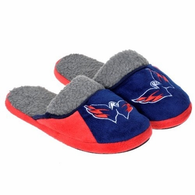 Washington Capitals 2012 Sherpa Slide Slippers