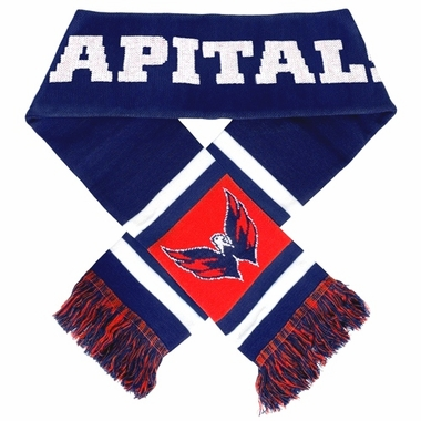 Washington Capitals 2012 Team Stripe Knit Scarf