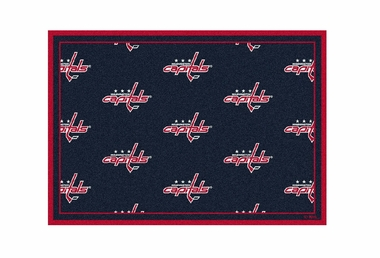 "Washington Capitals 3'10"" x 5'4"" Premium Pattern Rug"