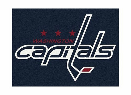 "Washington Capitals 3'10"" x 5'4"" Premium Spirit Rug"