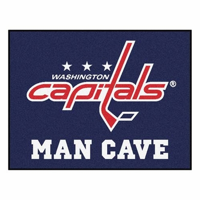 Washington Capitals 34 x 45 Man Cave Rug